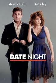 Movie poster for Date Night, a film by Shawn Levy, on Minimalist Reviews.