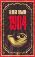 book cover for classic fiction novel 1984 by George Orwell a book to read before you die