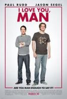 Movie poster for I Love You Man, a film by John Hamburg, on Minimalist Reviews.