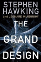 Book cover for The Grand Design, a pop science physics nonfiction book by Stephen Hawking, on Minimalist Reviews.