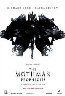 Movie poster for The Mothman Prophecies, a film by Mark Pellington, on Minimalist Reviews.