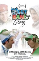 Movie poster for West Bank Story, an Oscar-winning short film by Ari Sandel, on Minimalist Reviews.