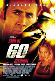 movie poster for the remake of Gone in 60 Seconds starring Nick Cage