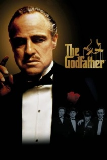 movie poster for The Godfather starring Al Pacino and Marlon Brando