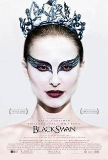 Movie poster of Black Swan, a film by Darren Aronofsky, on Minimalist Reviews.