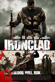 Movie poster for Ironclad a film by Jonathan English on Minimalist Reviews.