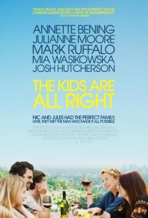 Movie poster for The Kids Are All Right, a film by Lisa Cholodenko, on Minimalist Reviews.