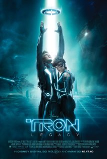 Movie poster for Tron 2.0 Legacy, a film by Joseph Kosinski, on Minimalist Reviews.