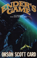 book cover for sci-fi fiction novel Ender's Game by Orson Scott Card a book to read before you die