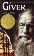 book cover for young adult science fiction novel The Giver by Lois Lowry a book to read before you die