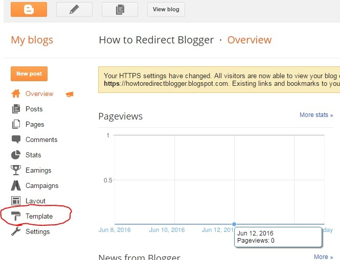 How To Redirect Blogger to WordPress