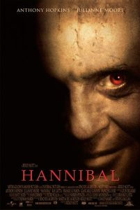 Movie poster for Hannibal, a 2001 film by Ridley Scott