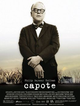 movie poster for philip seymour hoffman's masterfully acted movie Capote